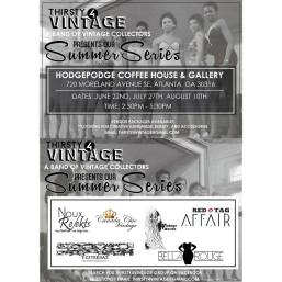 Thirsty 4 Vintage Summer Series Flyer